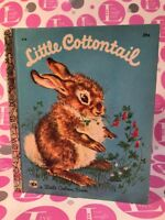 VINTAGE ~ LITTLE COTTONTAIL~Little Golden Book #414 (sixth printing 1960)EXC L.N