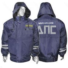 Genuine M-XXXL Russian Road Police Officer Uniform Militia Jacket Original