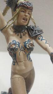 McFarlane Toys Series 1 Conan Svadun No Bra Variant Figure Female 2004