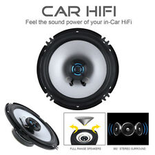 6.5-INCH 2-WAY CAR AUDIO COAXIAL SPEAKERS (PAIR) Full Range Hifi Loudspeaker
