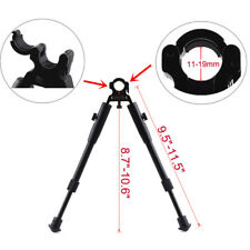 "9.5-11.5"" Adjustable Handy Spring Return Sniper Hunting Tactical Rifle Bipod Leg"