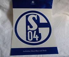 FC SCHALKE 04 - Auto-Aufkleber  20cm, Blau-Weiß -- Neu,OVP,Lizenzartikel