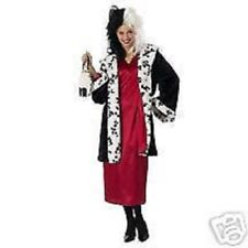 Cruella De Ville Costume (Size Medium - Brand New) Disney 101 Dalmations