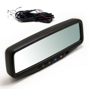 Brandmotion 9002-9510 GM OEM Factory Upgrade Mirror with 3.5 Inch Backup Monitor