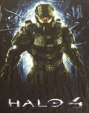 Halo 4 Xl T Shirt Video Game T Shirt 2012 Microsoft Black Short Sleeve Xbox