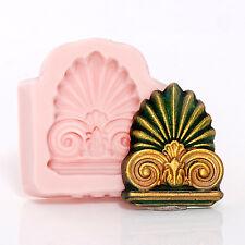 Silicone Roman Column Pillar Top Mold Fondant Chocolate Gum Paste Craft  (859)