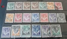 Northern Rhodesia 1938 Used (part set)