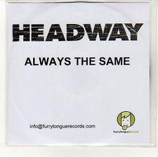(EN612) Headway, Always The Same - DJ CD