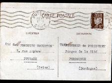 """PUTEAUX (92) LUBRIFIANTS pour INDUSTRIES """"PRODUITS HOUGHTON"""" ENTREPRISE en 1942"""