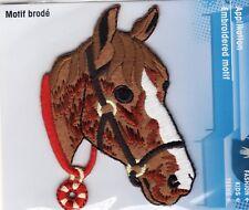 Classico ferro di cavallo sul motivo applique Patch, Nuovo di Zecca