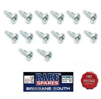 HOLDEN HQ HJ HX MONARO COUPE FRONT DOOR OPENING SCUFF PLATE SCREWS