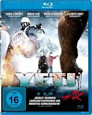Yeti Chuck BLU RAY Campbell, Adrian Paul, Marko Mäkilaakso NEW SEALED BLURAY