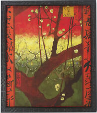 Van Gogh Flowering Plum Tree  Custom Framed Giclee Canvas Beautiful 21 x 24