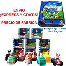PATRULLA CANINA 8 COCHES FIGURAS CHASE SKYE RYDER EVEREST ETC patrulha pata pp1