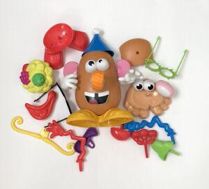 Mr Potato Head Hasbro Playskool 2010 & Lot Of Loose Parts