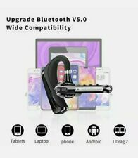 HonShoop Bluetooth Headset CVC8.0 Dual Mic Noise Cancelling, Wireless Bluetooth