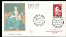 Maurice Quentin de La Tour French Rococo Painter France First Day Cover 1957