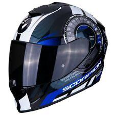 Scorpion 14-278-02 Casque Moto integral Exo-1400 air Torque Bleu XS