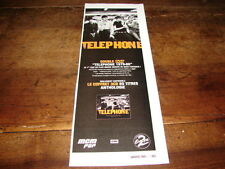 TELEPHONE - PETITE PUBLIITE PLATINUM COLLECTION !!!!!!!