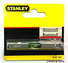 Stanley Line Level 0-42-287 Lightweight Metal Body 80mm Bricklaying Small Mini