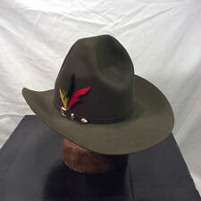 Thunder Grey Stetson El Patron 30X Beaver with Thunder Grey Band -- Size 7