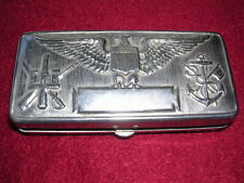 Gilette U.S. Service Set Case and Mirror, Wwi Era