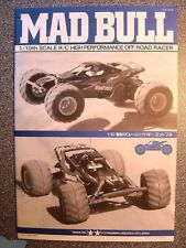 New Tamiya Mad Bull 58205 Instructions / Build Manual