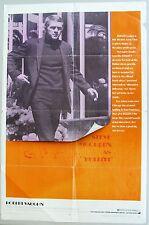 BULLITT Original One Sheet Movie Poster, 1968 Steve McQueen