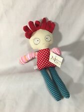Maison Chic mini crazy doll - red hair - new 74021