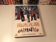 Kung Fu Fighter Rare Martial Arts Action DVD 2007 Hong Kong Vanness Wu Emme Wong
