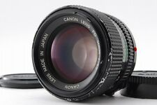 【B- Good】 Canon New FD NFD 50mm f/1.2 MF Prime Lens w/ Caps From JAPAN #3022