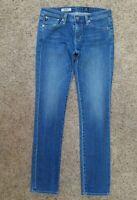 AG - ADRIANO GOLDSCHMIED The Stevie Slim Straight womens jeans -sz 27R -27 x 31