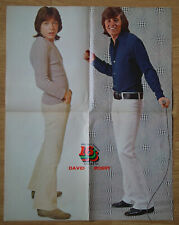 SPEC 16 Magazine November 1971 with DAVID CASSIDY & BOBBY SHERMAN POSTER