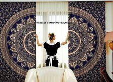Indische gold ombre mandala vorhänge fenster wandvorhänge tapisserie hippie