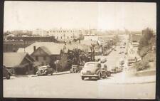 RP Postcard VALLEJO CA  Virginia St Houses/Homes Buildings Aerial view 1930's