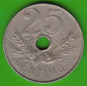 Spain 25 Centimos 1927 IN Vf-Xf nswleipzig
