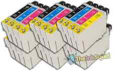 24 T0715 non-OEM Ink Cartridges For Epson T0711-14 Stylus DX4050 DX4400 DX4450