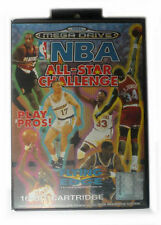 Sega Mega Drive Basketball PAL Video Games with Manual