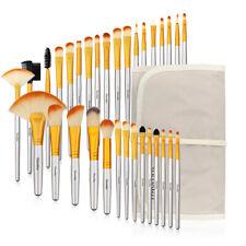 32Pcs Makeup Brushes Tool Powder Foundation Pencil Blender Brush & Luxury Bag US