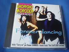 CD / GIORGIO MORODER PROJECT / FOREVER DANCING / 1993 FLARENASCH disco dance M