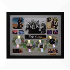 Pink Floyd Signed & Framed Memorabilia - 4CD - Silver