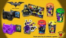 "MCDONALD'S 2017 ""THE LEGO BATMAN MOVIE"" - MISSING # 2 AND # 6"