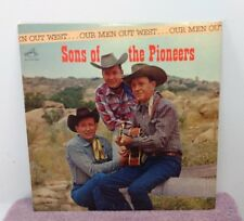 "Vintage LP - ""Our Men Out West"" - Sons of the Pioneers - Western Music - VGC"