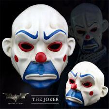 Batman Joker Clown Bank Robber Resin Masks The Dark Knight Scale Mask Costumes