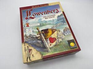 Löwenherz - Die Grenzen der Macht - Brettspiel - Gold Sieber Spiele  top Zustand