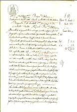 1882 SCANDOLARA RAVARA Domenico MARTANI vende casa a Giuseppe MOTTI *Manoscritto