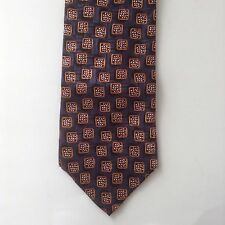 Images by Barbara Blank Mens Neck Tie Silk Blue Gold Maroon