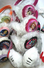 21 X Wholesale Joblot Disney Kids Earmuffs Headband Set Clothes Accessries