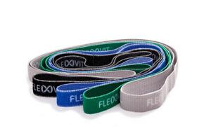 FLEXVIT REVOLVE Superband Premium Textil Fitness Widerstands & Zugband Training