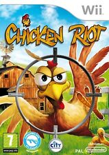 Chicken Riot - Nintendo Wii / Wii U - Free, Fast P&P! - BRAND NEW & SEALED